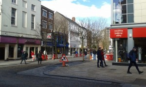 The section of Cheapside leading to the Flag Market will be shut off