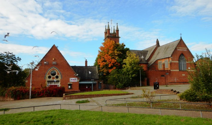 Emanuel Church and the community centre