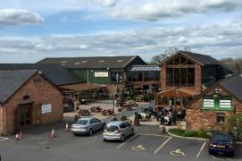 Huntleys stores on the edge of Preston