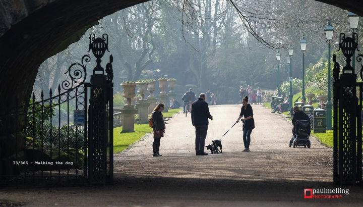 Miller Park entrance from Avenham Pic: Paul Melling