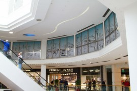 Have you seen the illustration within the St George's centre?
