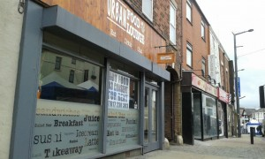The closed Urban Food Lounge in Friargate