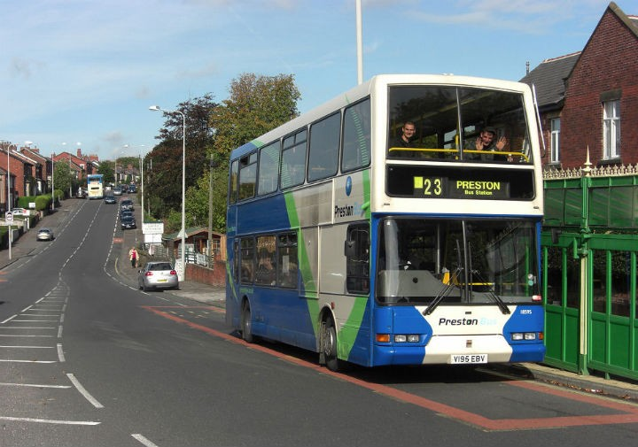 The 23 service is one of those with later times Pic: Claire Pendrous