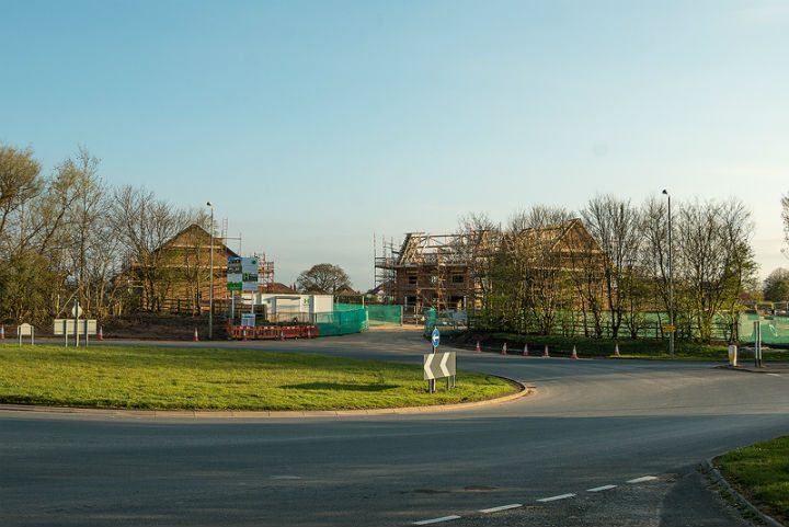 Homes being built near Eastway Pic: Paul Iddon