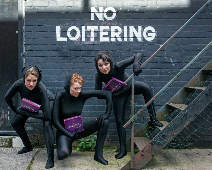 The Eggs Collective are described as sharp, comic and politically motivated Pic: Lee Baxter