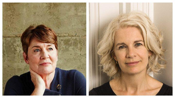 Fiona Barton and Renee Knight