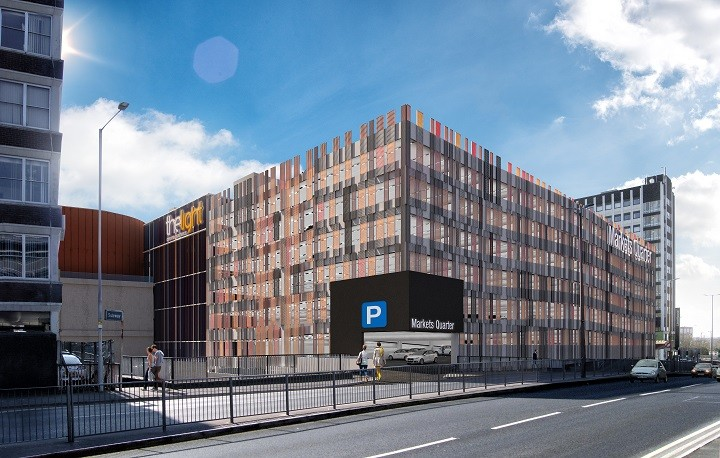 What do you make of the new car park?