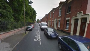 Selborne Street where the incident took place Pic: Google