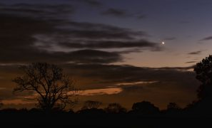 An evening star in Preston Pic: Keith Sergeant