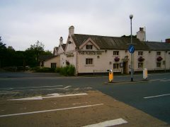 The Fleece Inn was targeted by a gunman Pic: Stephen Ward
