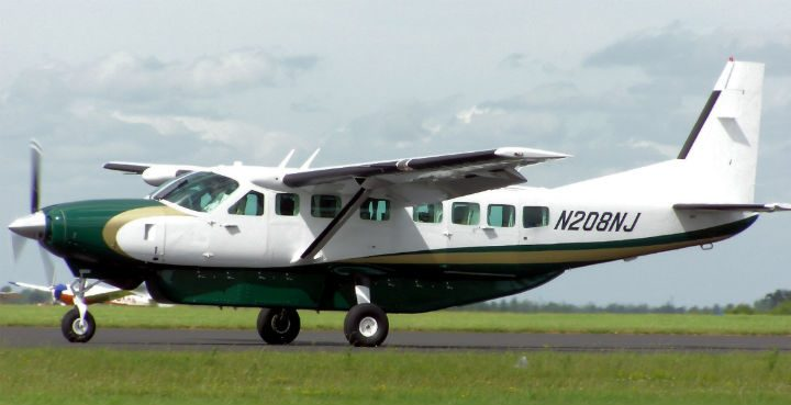 A Cessna was flying low over Preston late on Saturday night Pic: Wikimedia Commons