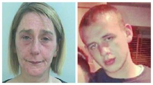 Allison Threlfall, left, has been jailed for her role in the death of Jon-Jo Highton