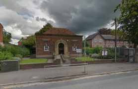 Bamber Bridge library in Station Road is earmarked for closure Pic: Google