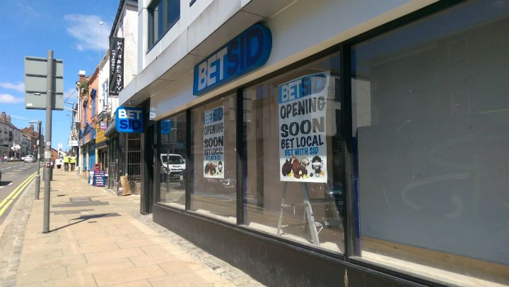 Work is ongoing to refurbish and rebrand the bookies in Friargate