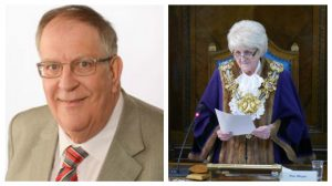 Cllr John Collins takes over from cllr McManus