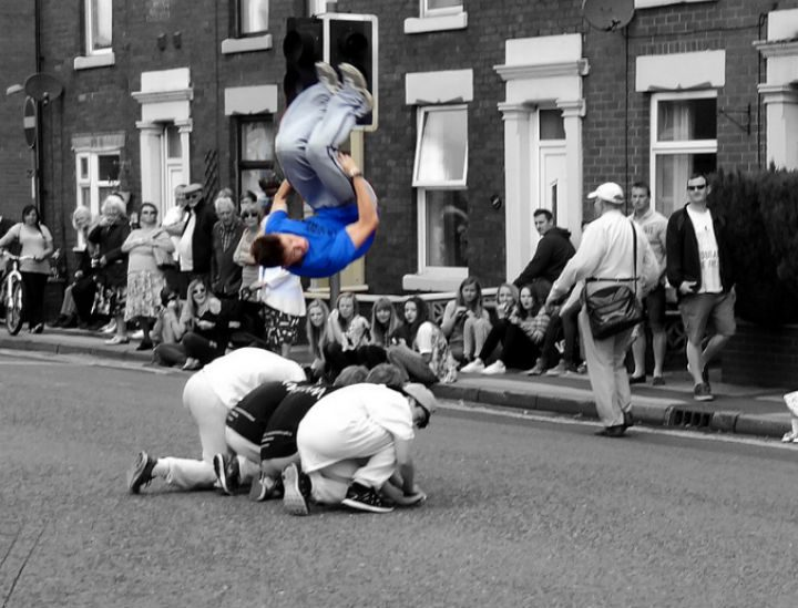 Lostock Hall Carnival on the streets in 2014 Pic: Marty Hopkirk
