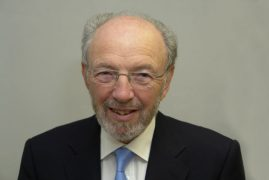 Cllr Mike Devaney was chairman of the county council for a year