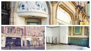 The empty unit at Miller Arcade is being converted to become a cafe Pics: Louise Hogg
