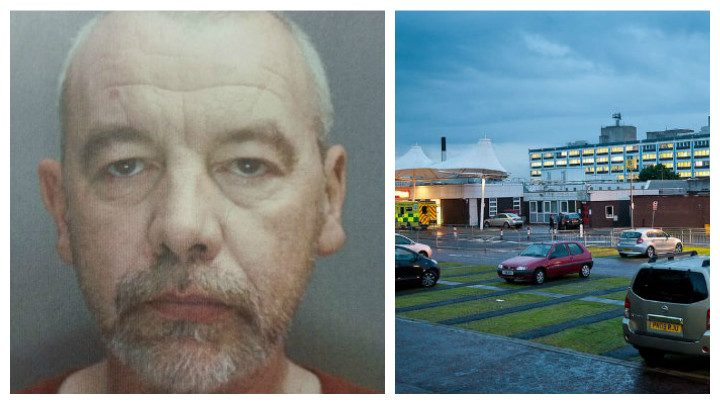 Paul Lunt was last seen at Royal Preston Hospital