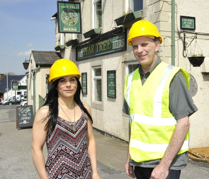 Sarah Moy and Tim Hughes will run The Pear Tree