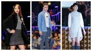 Some of the models at last year's Evoque catwalk show Pics: James Scrivener