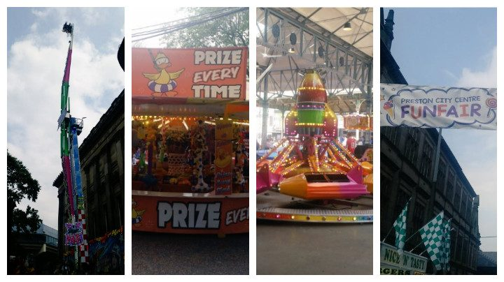 The Whitfair sets up in Preston once more Pics: Cllr Peter Kelly