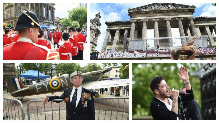 A colourful spectacle for Armed Forces Day in Preston