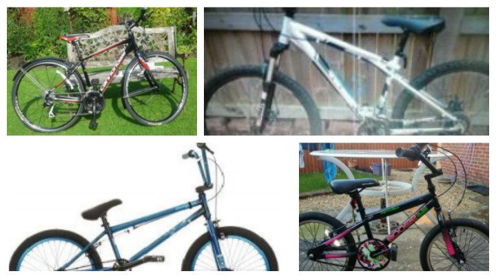 A range of mountain bikes have been taken in Preston during the last month