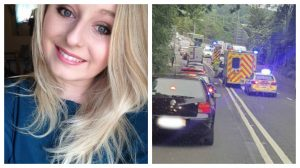 Teacher Lisa was on her way to work when the collision happened