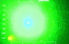 The impact the laser can have on the helicopter crew