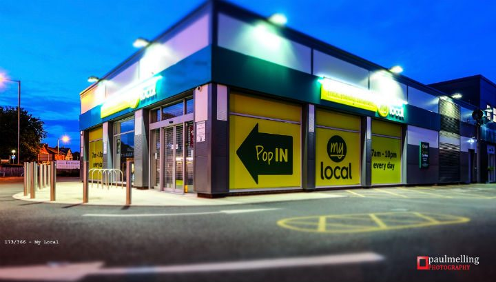 The My Local store in Blackpool Road Pic: Paul Melling