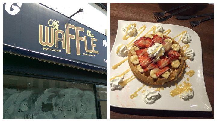 Work is ongoing at Off The Waffle in Friargate