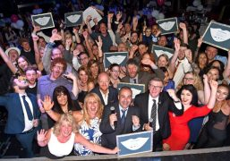 All the winners of this year's Smiles Better Awards celebrate