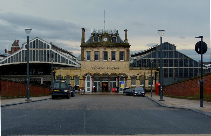 Officers met the man at Preston Railway Station Pic: 70023venus2009