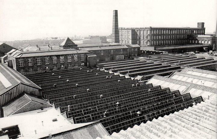 Alliance Works Weaving Sheds & Centenary Mill, Preston. Pic: Preston Digital Archive
