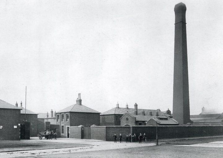 Preston Corporation Refuse Destructor, Argyll Road 1886. Pic: Preston Digital Archive