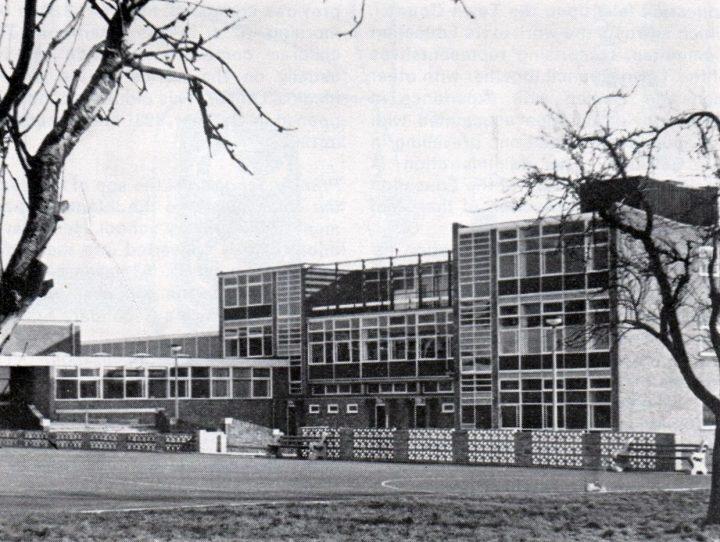 Tulketh Comprehensive School, Tag Lane, Preston c.1967