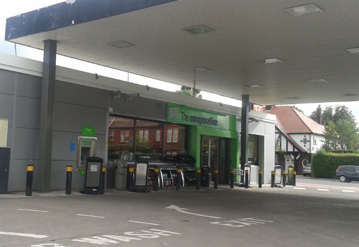 The Co-Op store in Fulwood has begun trading again for an interim period