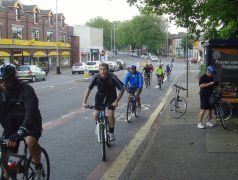 Cycle ride in Preston Pic: Tony Worrall