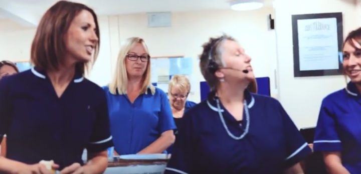 The singing doctors and nurses!