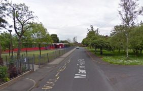 The incident happened near a primary school Pic: Google