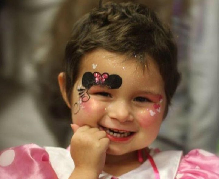 Little Pippa Cole has been declared cancer free