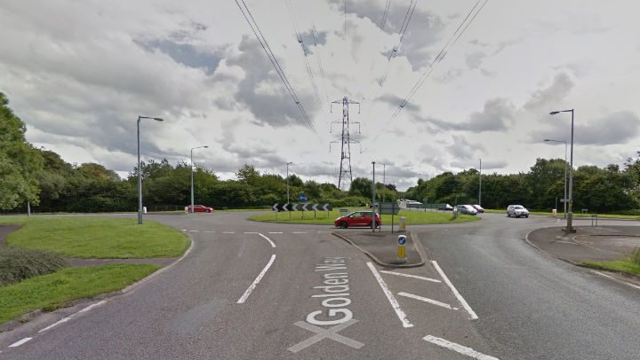 Approach to the Pope Lane roundabout Pic: Google