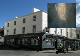 Mark McAlinden is banned from this pub
