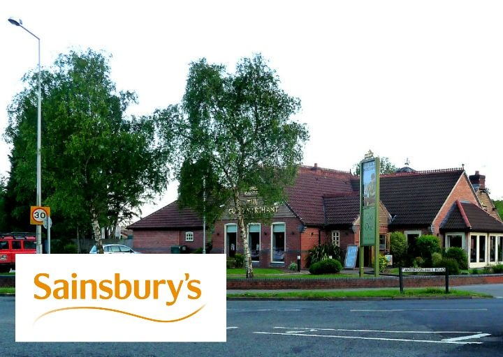 Sainsbury's would open in the car park of the Marston's pub Pic: Brian Young