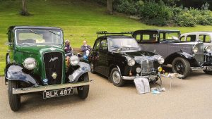 Some of the classic cars at last year's event in Miller Park Pic: Benny Mc'Nally