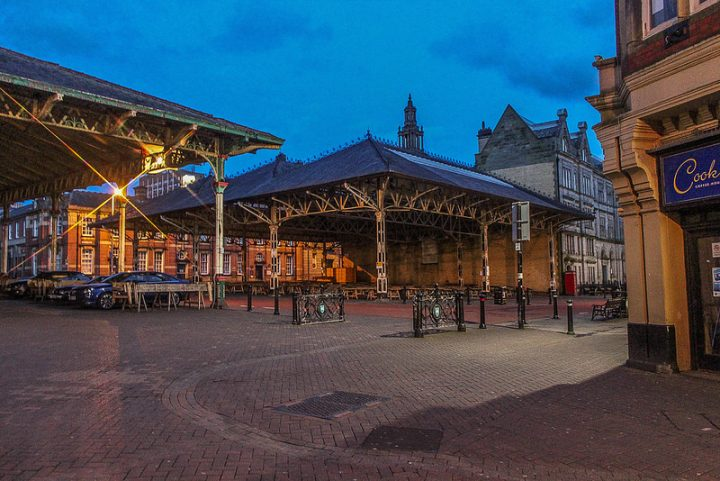 Evening parking under the Market canopies is to become a thing of the past Pic: Richard Swan