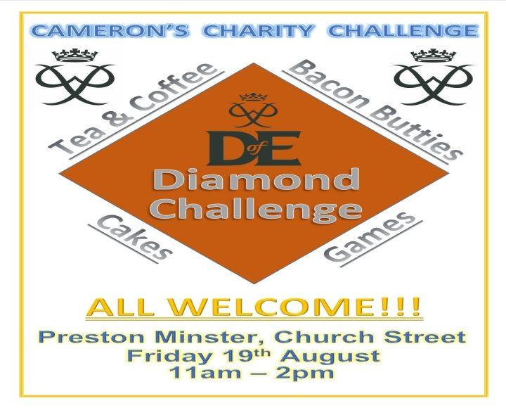 Camerons Challenge Poster