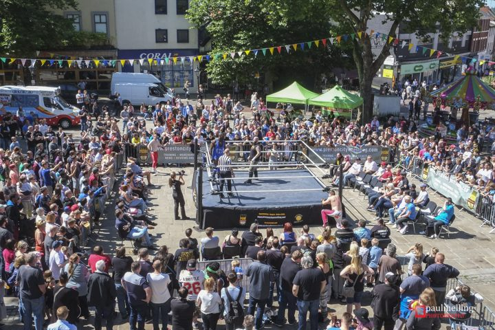 PCW fifth anniversary event on the flag market. Pic: Paul Melling