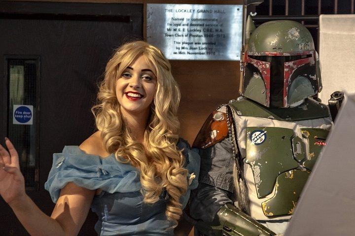 Preston Comic Con event in the Guild Hall. Pic: Robin Utracik